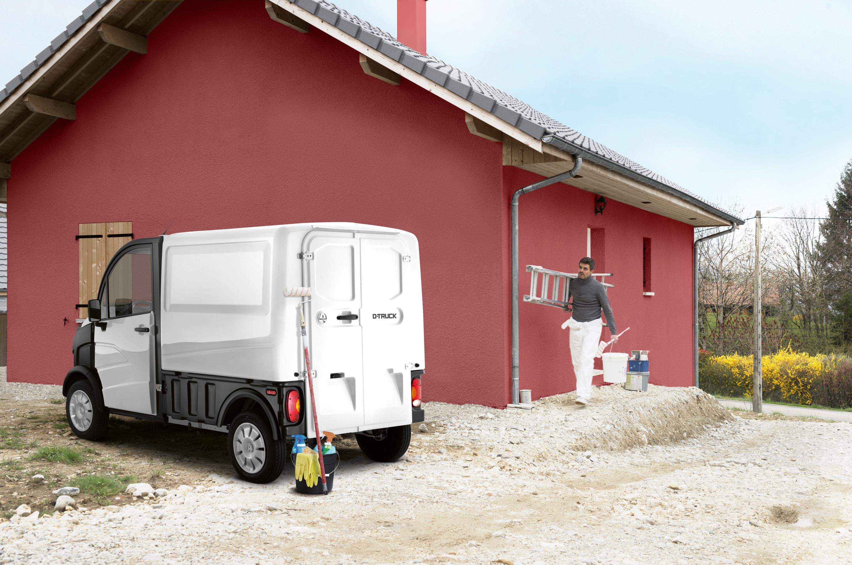 d truck utilitaire sans permis pour professionnels aixam pro. Black Bedroom Furniture Sets. Home Design Ideas