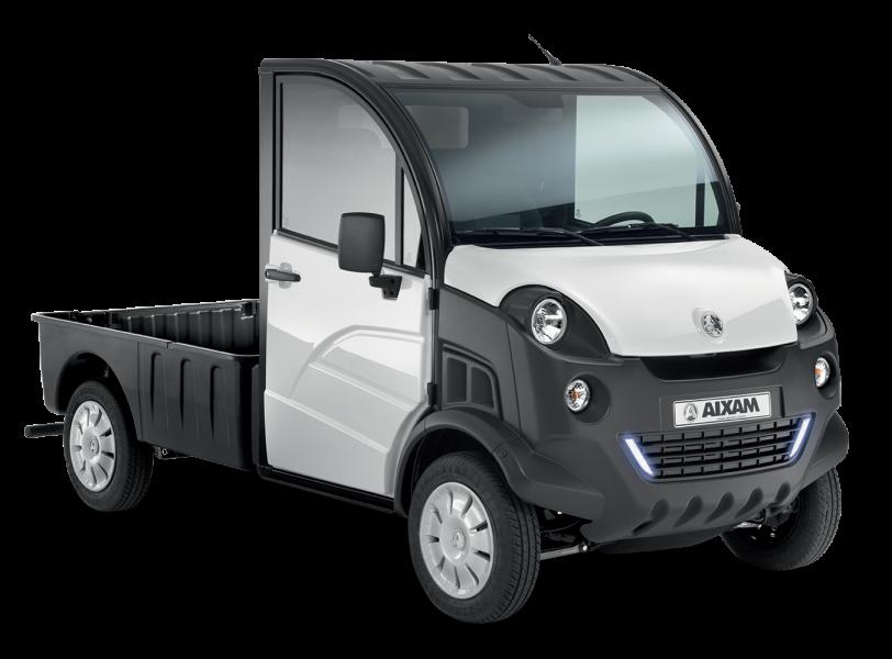 d truck pick up sans permis utilitaire compact aixam pro. Black Bedroom Furniture Sets. Home Design Ideas